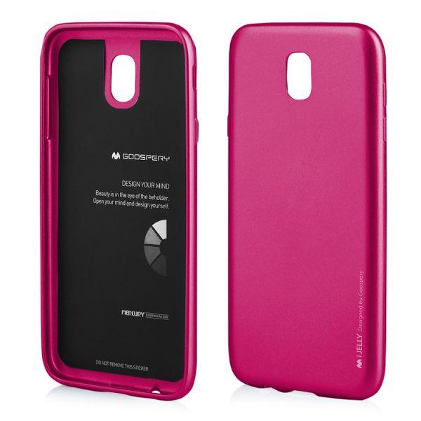 Schutzhülle i-JELLY für Samsung Galaxy J3, hotpink